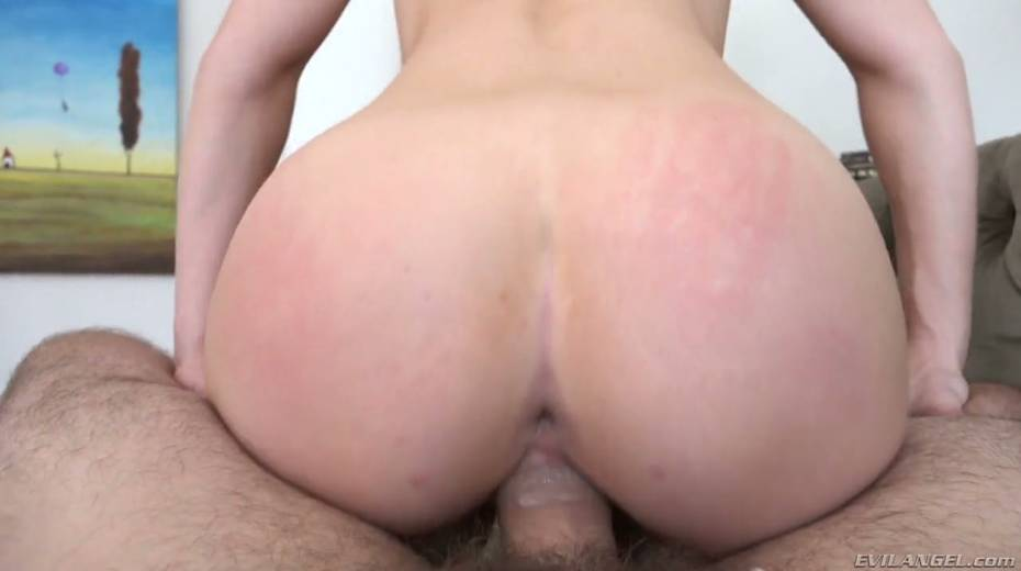 Sexy blonde in crotchless body fishnet Kayden Kross takes big shlong in her gaped anal hole - 17. pic