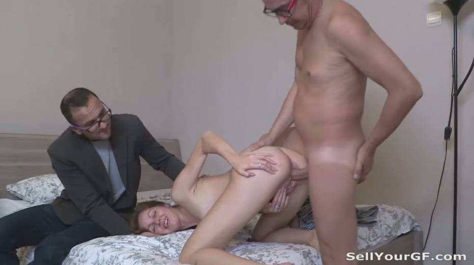 Perverted guy sold his naughty sexy girlfriend - 10. pic