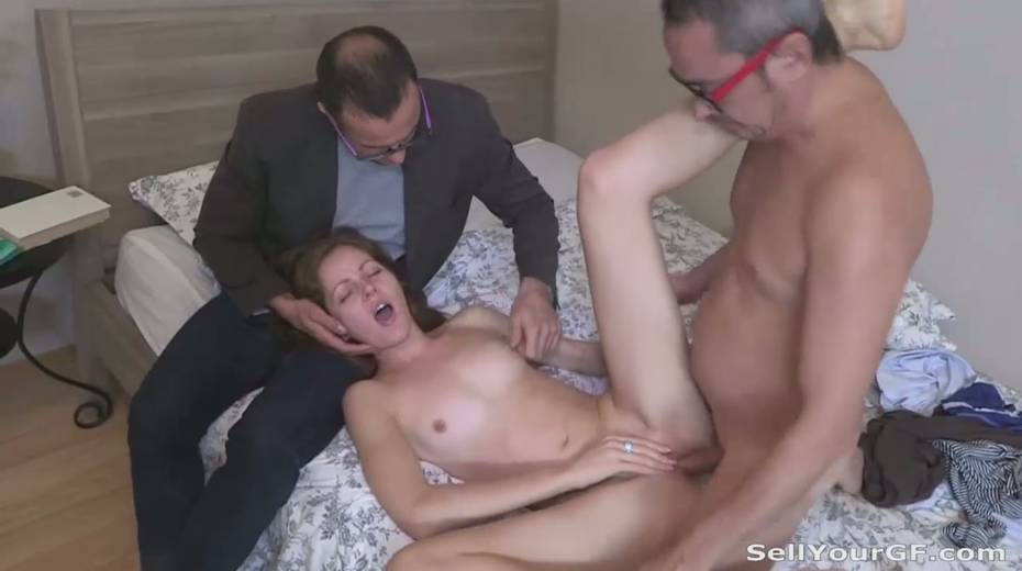 Perverted guy sold his naughty sexy girlfriend - 11. pic