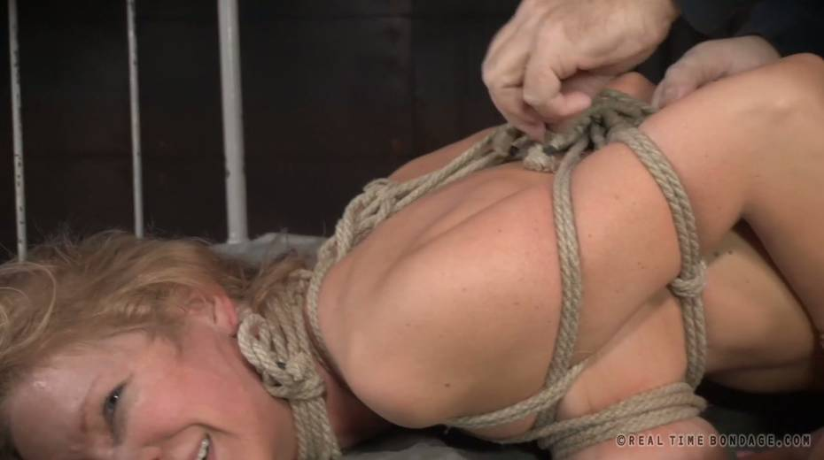 Lustful big boobed slave with tattoos gets brutally fucked by two masters - 3. pic