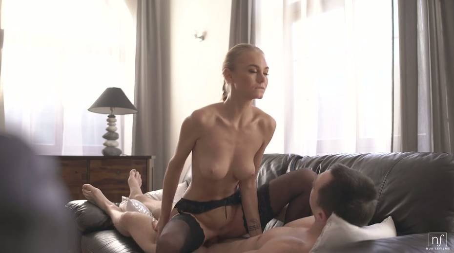 Beautiful and graceful hottie Nancy A rides a dick and gets doggy fucked - 16. pic