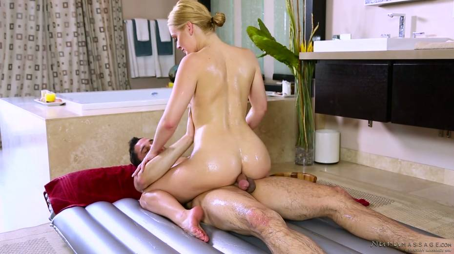 Skilled masseuse Abby Cross provides regular client with excellent nuru massage - 8. pic