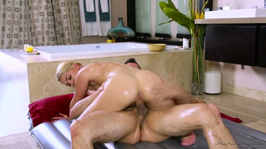 Skilled masseuse Abby Cross provides regular client with excellent nuru massage - 11. pic