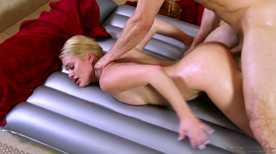 Skilled masseuse Abby Cross provides regular client with excellent nuru massage - 19. pic