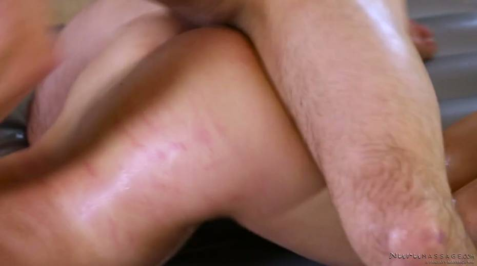 Skilled masseuse Abby Cross provides regular client with excellent nuru massage - 20. pic