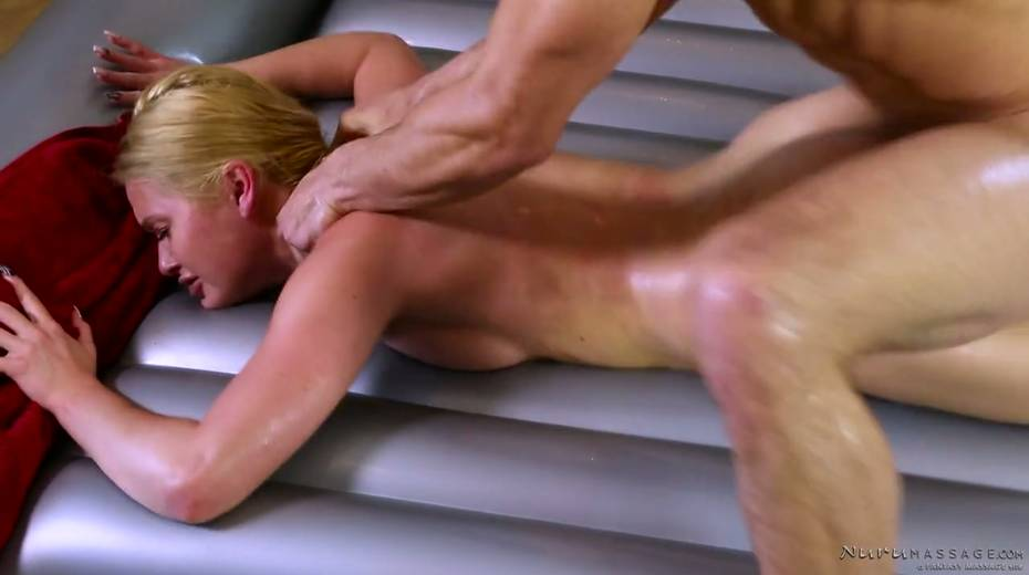 Skilled masseuse Abby Cross provides regular client with excellent nuru massage - 22. pic
