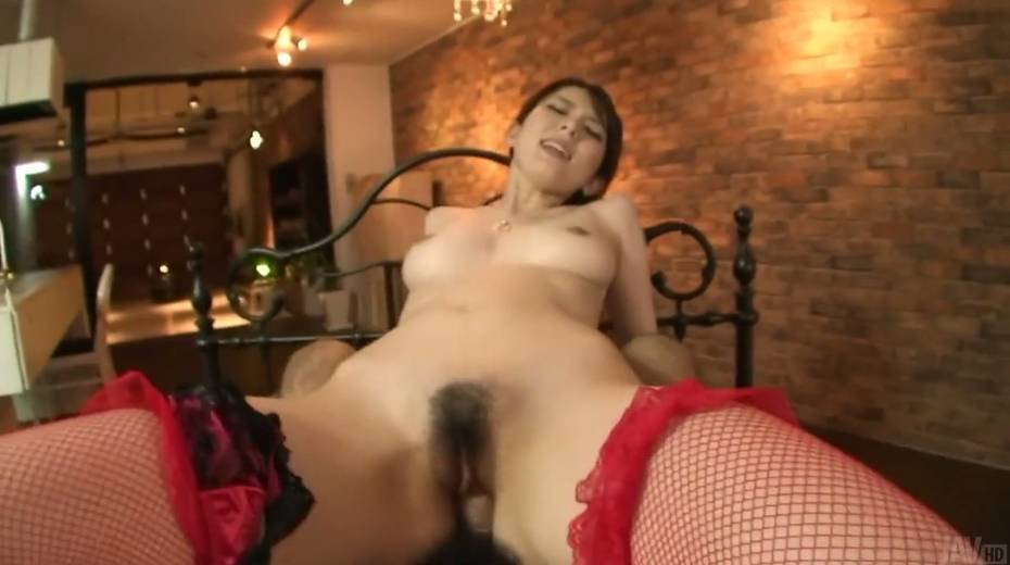 Hairy twat and creampied anus of sizzling Asian hottie Yui Hatano - 17. pic