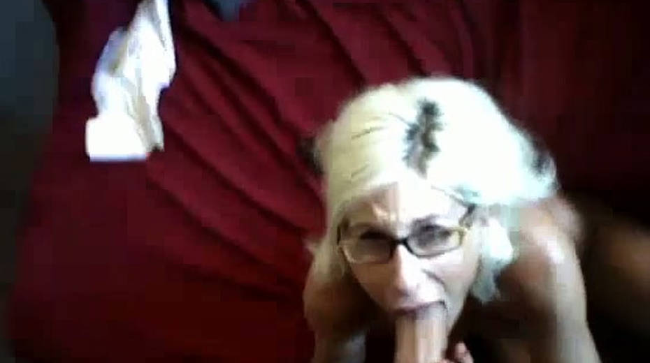 Tanned bosomy blonde sucks her BF's pecker until she gets a facial - 1. pic