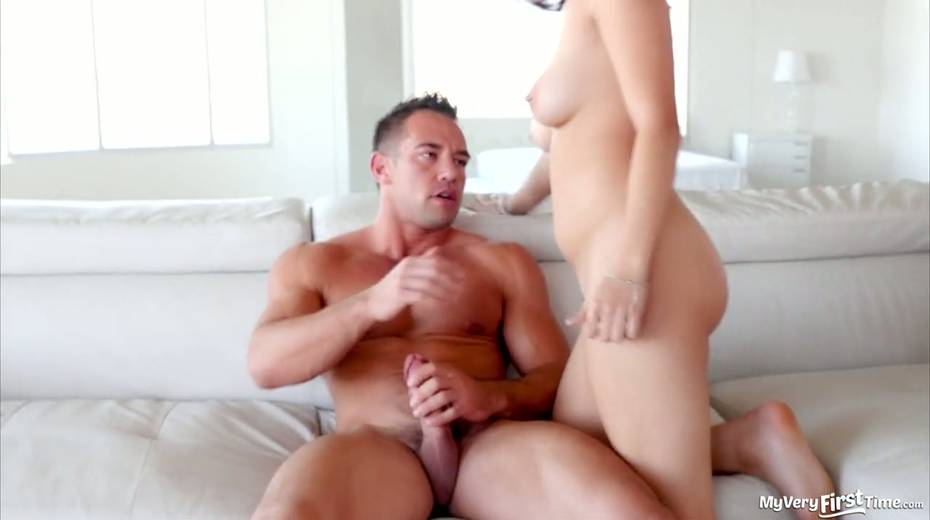 Lewd brunette Raven Orion is fucked by hot blooded stud Johhny Castle - 12. pic