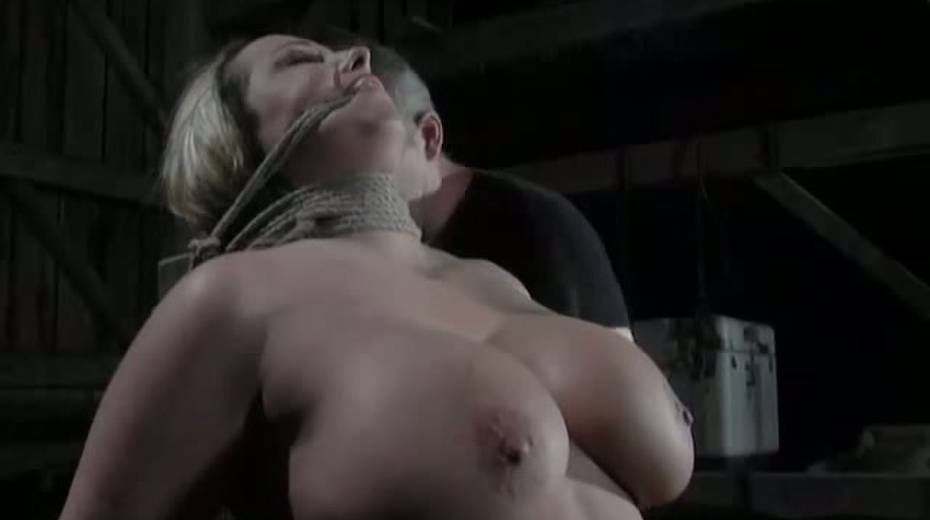 Seductive porn model with big boobs is punished in the basement - 7. pic