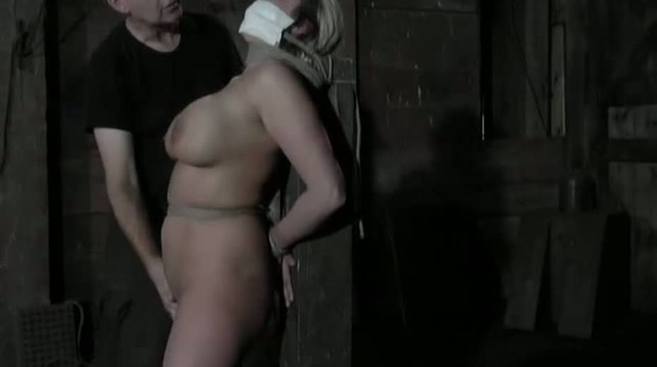 Seductive porn model with big boobs is punished in the basement - 12. pic