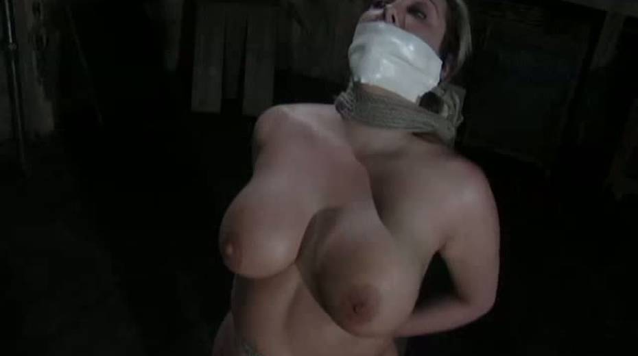 Seductive porn model with big boobs is punished in the basement - 13. pic