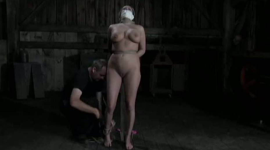 Seductive porn model with big boobs is punished in the basement - 14. pic