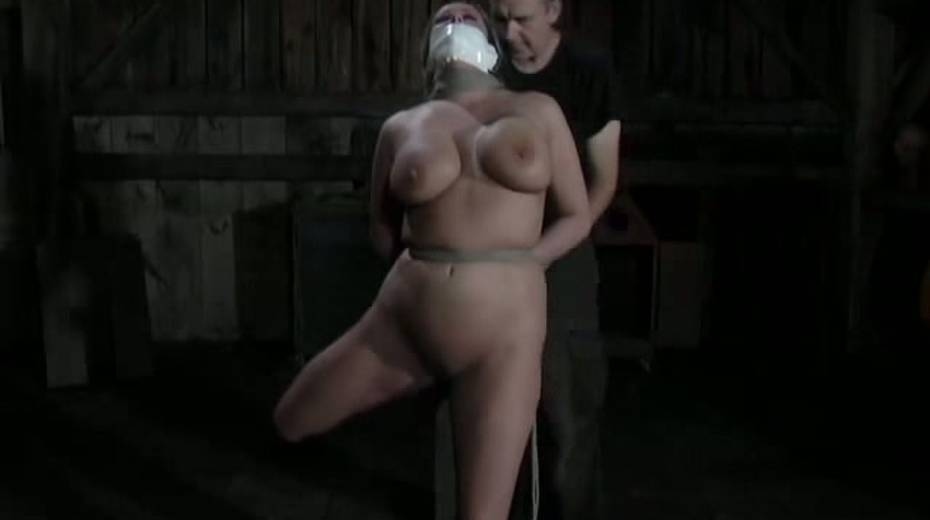 Seductive porn model with big boobs is punished in the basement - 15. pic