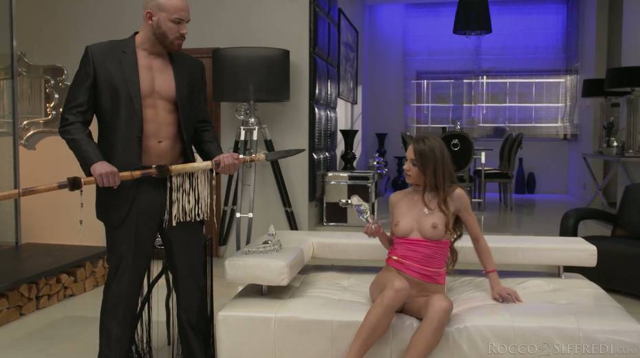 Skinny chick Veronica Clark is craving for hardcore anal pounding - 9. pic