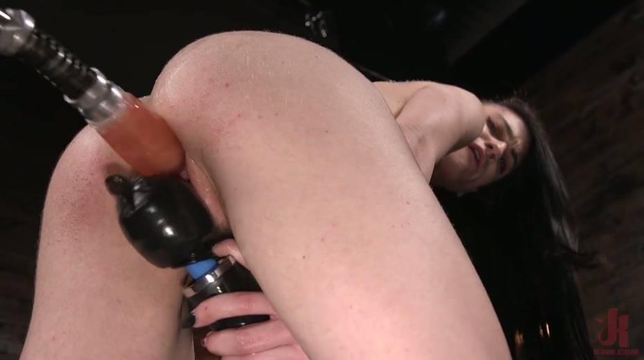 Informal girl Lydia Black is testing crazy fucking machine and new vibrator - 16. pic