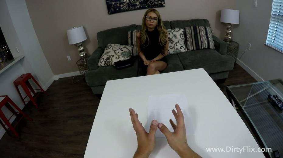 Slut with fake boobs Kat Dior shows her talents in hot POV casting video - 4. pic