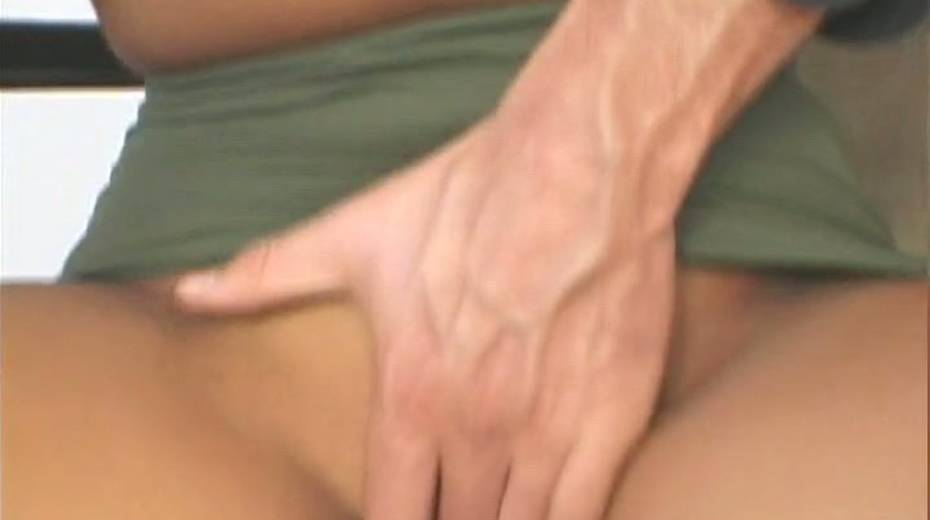 That trimmed pussy of hers looks even prettier with a dick in it - 2. pic
