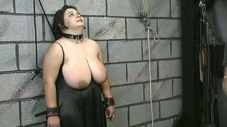 Huge boobed BBW slut getting her balloons tied up in bondage porn video - 12. pic