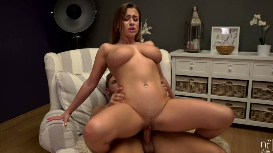 Full natural juggy babe Josephine Jackson is having crazy sex fun with her boyfriend - 21. pic