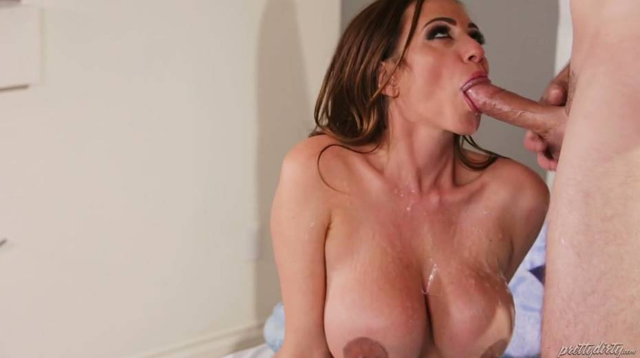 Fucking hot red haired milf Ariella Ferrera enjoys having passionate sex - 28. pic