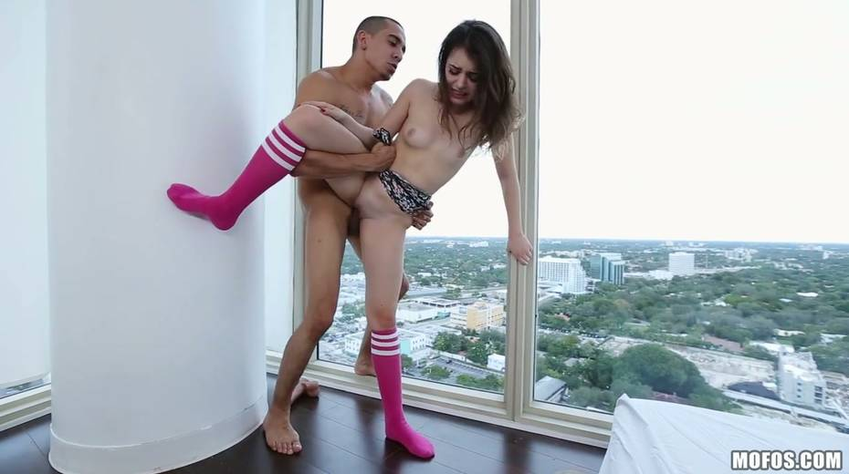 Yummy teen Kylie Quinn is fucked hard by hot tempered stud - 28. pic