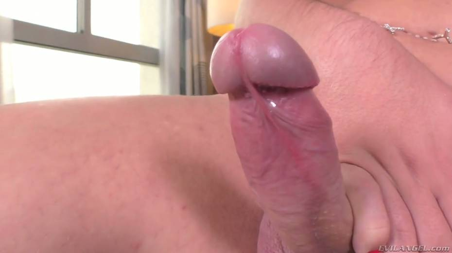 Fucking hot shemale Carol Penelope is playing with hard dick - 12. pic