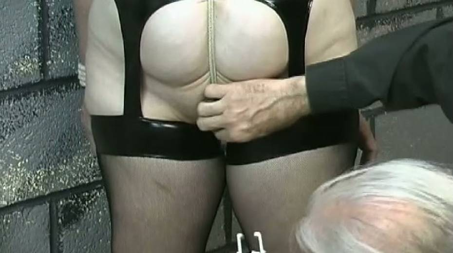 Obese slut with tied up boobs is punished in the bdsm room - 15. pic