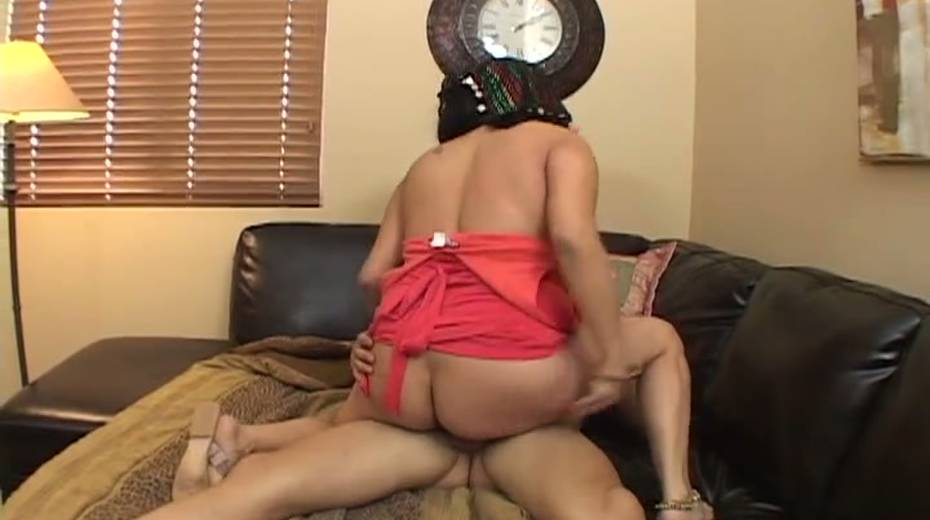 Once she has the love tool in her pussy she starts riding it like mad - 5. pic