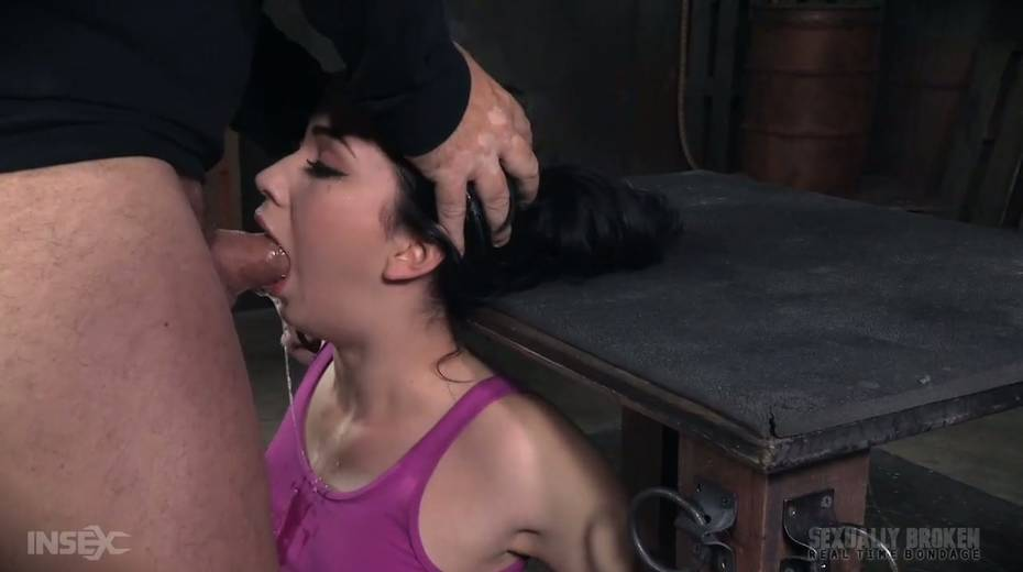 BBC and white dude fuck throat of Aria Alexander - 15. pic