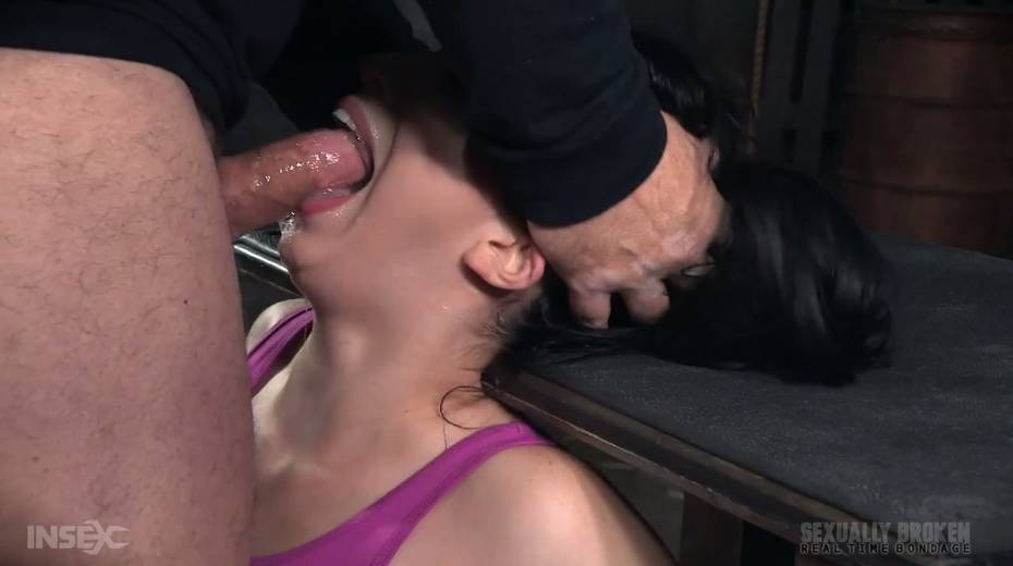 BBC and white dude fuck throat of Aria Alexander - 16. pic