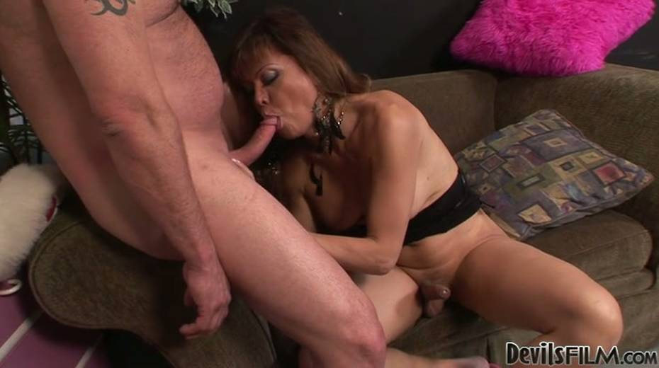 This ladyboy loves giving BJs just as much as she loves receiving BJs - 2. pic