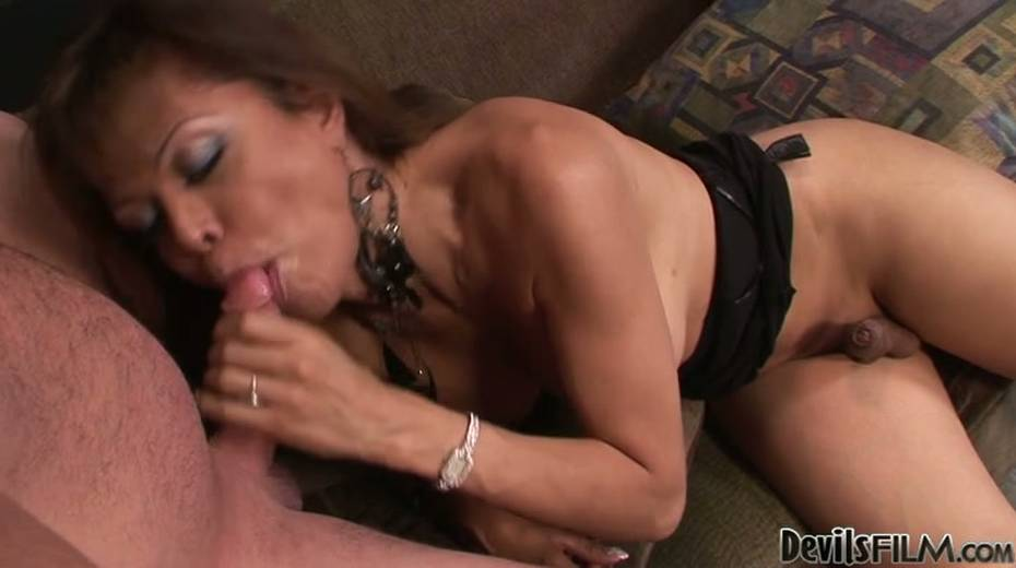This ladyboy loves giving BJs just as much as she loves receiving BJs - 14. pic