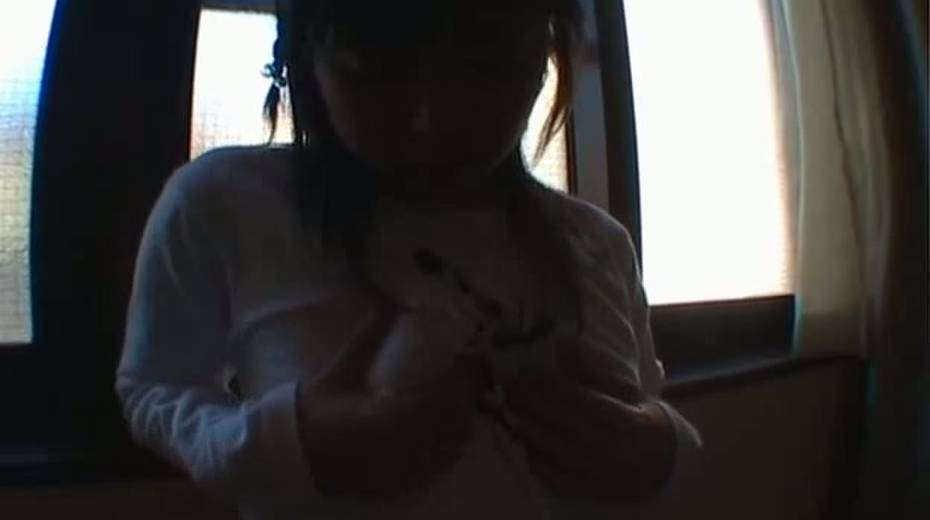 Lubricious teen gal fondling herself in exciting solo masturbation clip - 5. pic