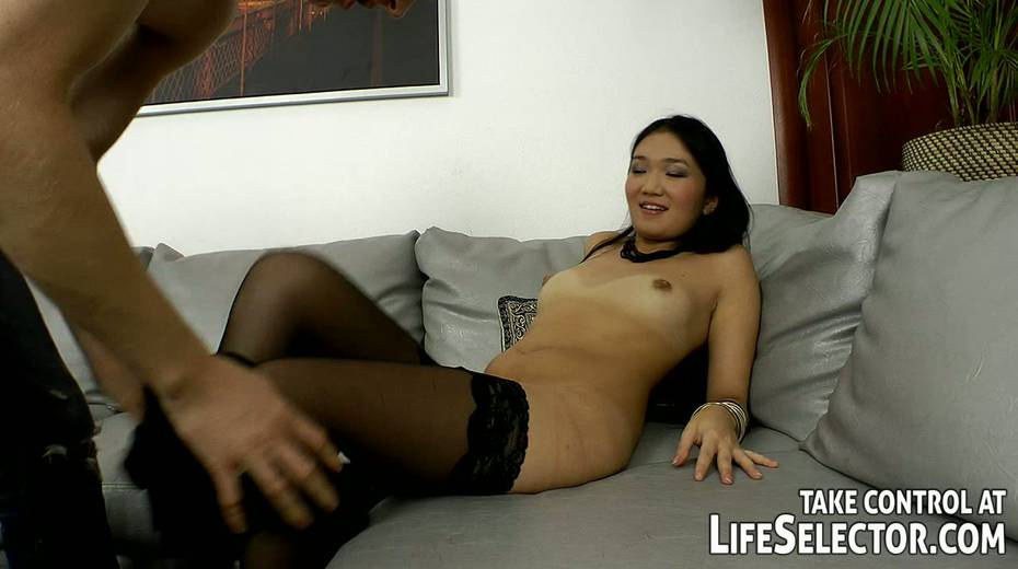 This wanton Asian hoe like both vaginal and anal sex with her BF - 2. pic