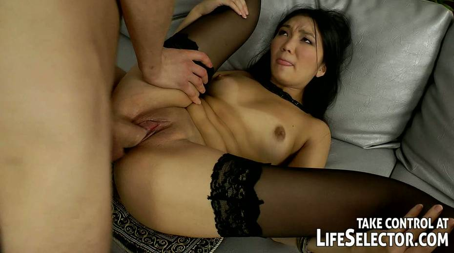 This wanton Asian hoe like both vaginal and anal sex with her BF - 6. pic