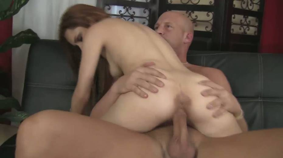 Slim red haired girl Jessica Anderson is impaled on a huge thick cock - 10. pic