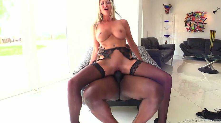 Seductive hottie Lexi Lowe enjoys having dirty interracial anal sex - 9. pic