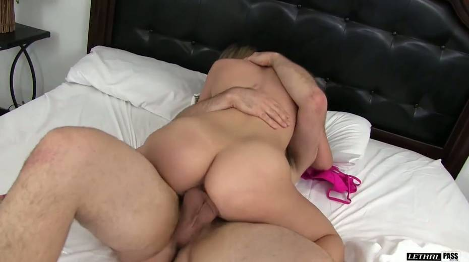 Beautiful babe Kimber Lee is fucked hard by hot tempered stud - 12. pic