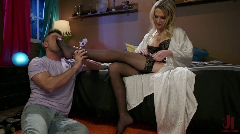 Pretty boy gives a good blowjob before a rough anal sex doggy style - 3. pic