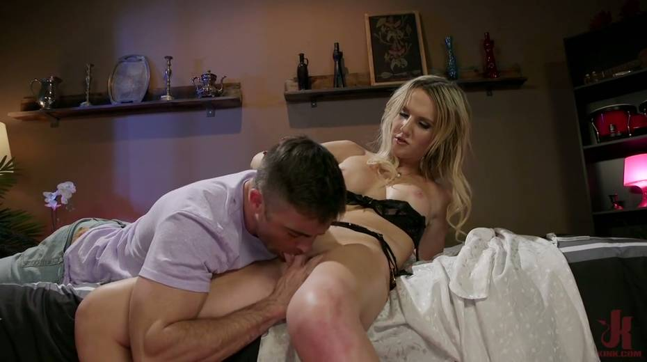 Pretty boy gives a good blowjob before a rough anal sex doggy style - 7. pic