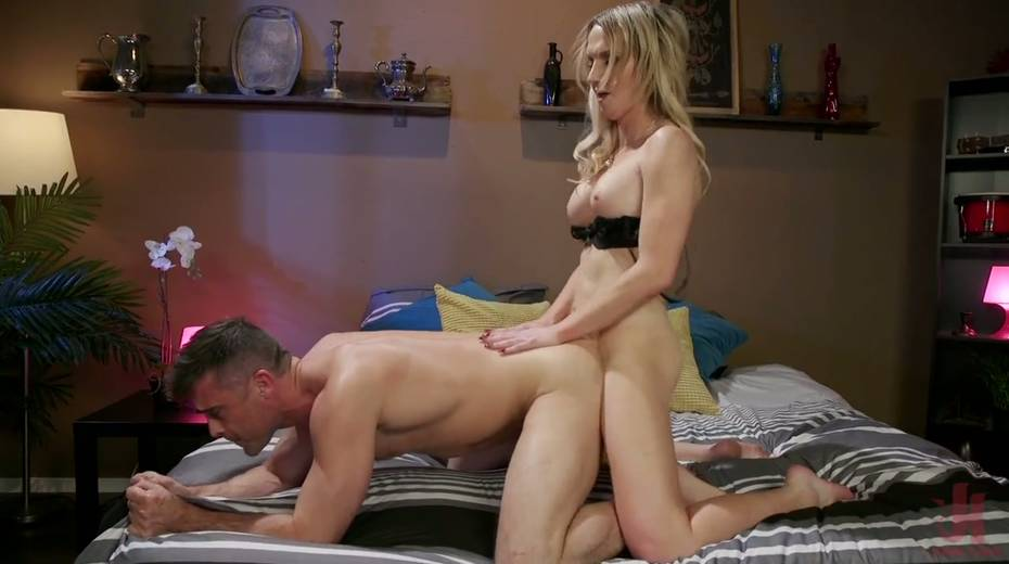 Pretty boy gives a good blowjob before a rough anal sex doggy style - 12. pic