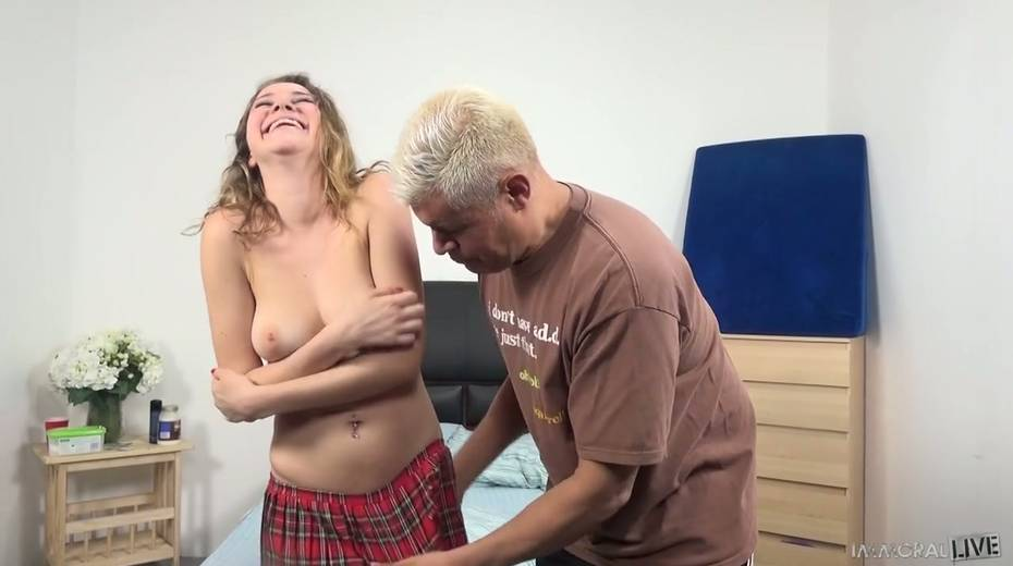Sex-hungry blond dude fucks Kinsley Eden and makes her tits bounce - 3. pic