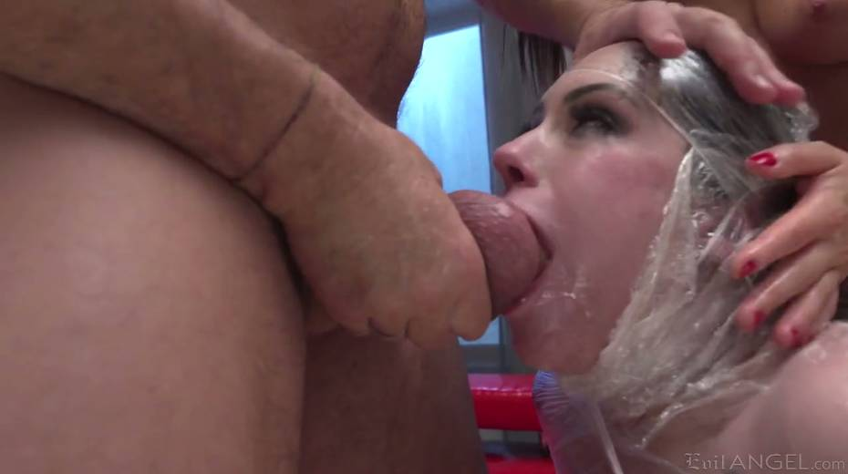 Italian stud Rocco fucks stretched anal holes of two seductive girlfriends - 9. pic