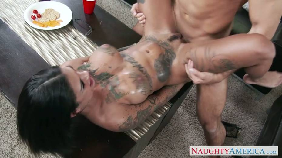 Seductive brunette milf provides her young boss with great blowjob - 14. pic