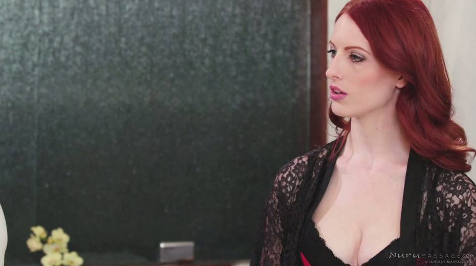 Red haired seductress Alex Harper is pleasing her regular client - 3. pic