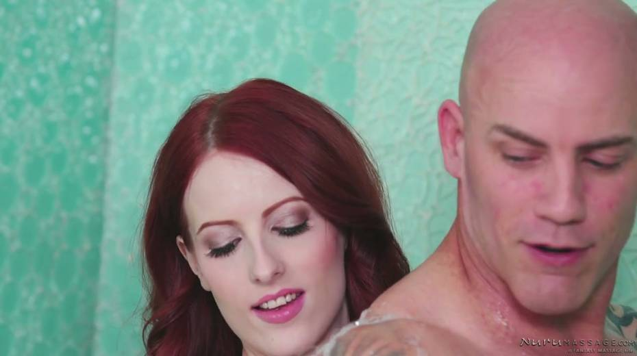 Red haired seductress Alex Harper is pleasing her regular client - 5. pic