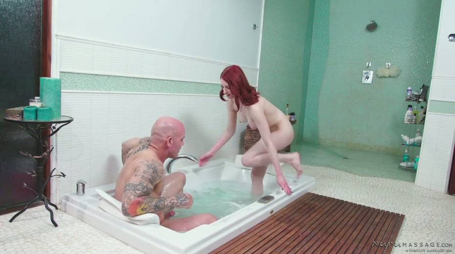 Red haired seductress Alex Harper is pleasing her regular client - 7. pic