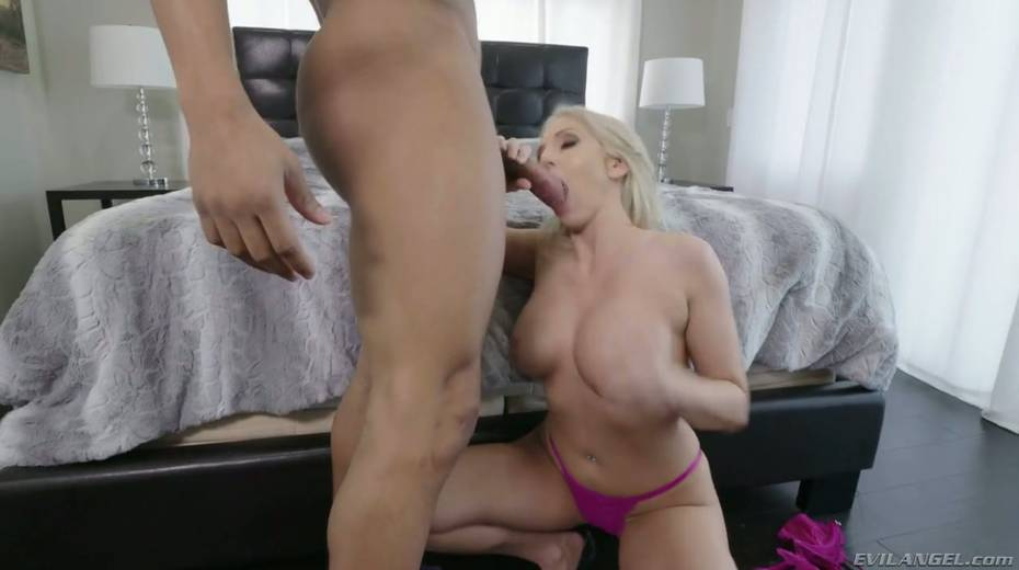 BBC fucks amazing beauty Christie Stevens and cums in her mouth - 6. pic