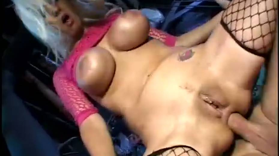 Trina Michaels with huge fake boobs butt fucked brutally - 8. pic